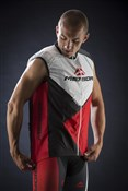 Image of Merida Red Trieste Design Wind Cycling Vest 2014