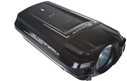 Image of Moon Meteor 210 Lumen USB Rechargeable Front Light