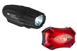 Image of Moon X Power 500 With 60 Lumen Shield Rear Light Set