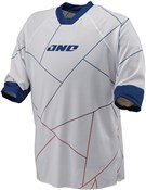 Image of One Industries Brigade Broken Up 3/4 Sleeve Cycling Jersey