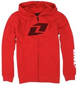 Image of One Industries Icon FZ Hooded Full Zip Fleece Jacket