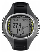 Polar CS300 Heart Rate Monitor Computer Watch With Speed Sensor