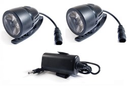 Image of RSP Asteri 2 x 3 Watt Rechargeable Front LED Light Set