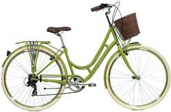 Image of Raleigh Cameo Green Womens 2014 Hybrid Bike