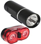 Image of Raleigh RX8.0 Front and Rear Light Set