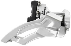 Image of Sram X5 Dual Pull Low Clamp Front Derailleur