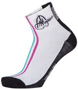 Image of Santini Anna Meares TDU Cotton Summer Socks