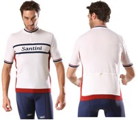 Image of Santini Epoca Wool Short Sleeve Jersey