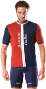 Image of Santini Era Short Sleeve Wool Jersey