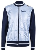 Image of Santini Eroica Wool Zip Fastening Sweater Windproof Front 2015 Heritage Series