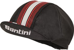 Image of Santini Tau Cotton Cycling Cap