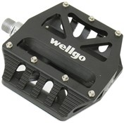 Image of Savage Ramp Sealed Bearing Flat Pedal with Grind Plates