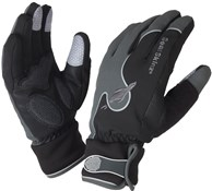 Image of Sealskinz Thermal Performance Long Finger Road Cycle Gloves