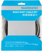 Image of Shimano Road Gear Cable Set With Stainless Steel Inner Wire