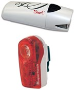 Image of Smart Lunar 25 Lux Front with 1/2 Watt Rear Light Set