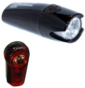 Image of Smart Lunar 60 Lux Front with 1/2 Watt Rear Light Set
