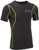 Image of Tenn Compression Fit Sports Cycling Running Short Sleeve Base Layer