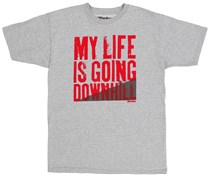 Image of The Brakes My Life is Going Downhill Tee