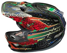 Image of Troy Lee D3 Sam Hill Carbon Full Face Helmet