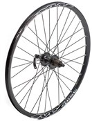 Image of Tru-Build Shimano Deore Disc Black Q/R Hub Built Onto Mach 1 MX Disc Rim Front Wheel