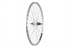 Image of Tru-Build Zac 2000 Alloy Double Wall Rim Silver / Shimano 8/9 Speed Q/r Cassette Hub Rear Wheel