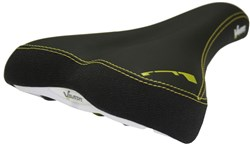 Image of Vavert Memory Foam Comfort Saddle With Satin Steel Rails