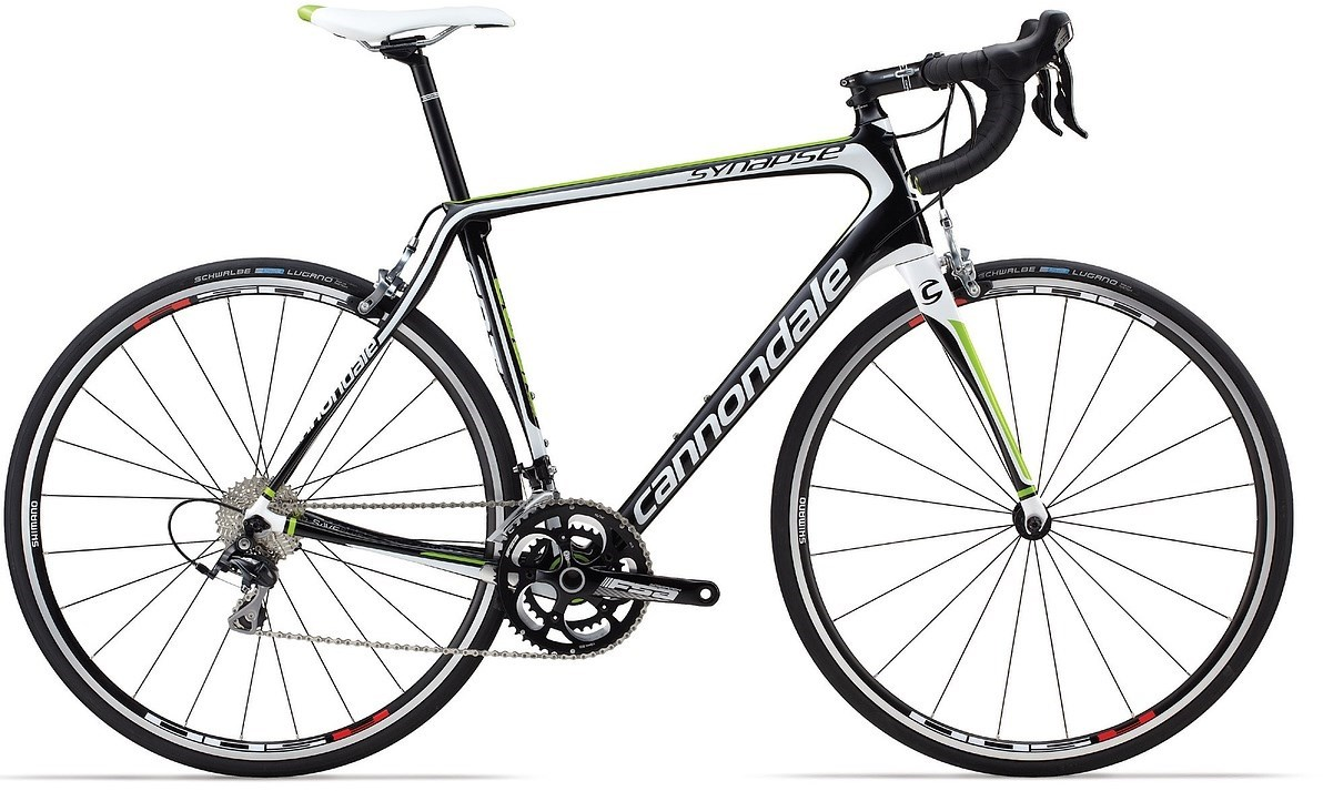 Home Bikes Road bikes Cannondale Synapse Carbon 105 2014 Road Bike