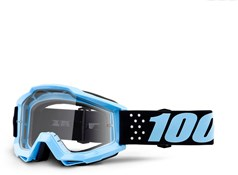 Image of 100% Accuri Anti-Fog Clear Lens MTB Goggles
