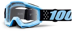 Image of 100% Accuri JR Youth Anti-Fog Clear Lens MTB Goggles