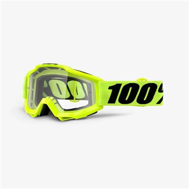 Image of 100% Accuri OTG (Over The Glasses) Clear Lens MTB Goggles