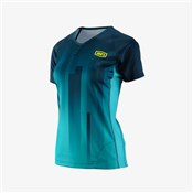 Image of 100% Airmatic Womens Short Sleeve Jersey AW17