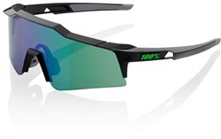 Image of 100% SpeedCraft Short Lens Sport Sunglasses - Mirror Lens