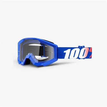 Image of 100% Strata JR Youth Anti-Fog Clear Lens MTB Goggles