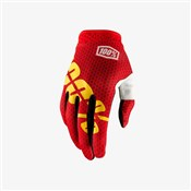 Image of 100% iTrack Long Finger Cycling Gloves AW17