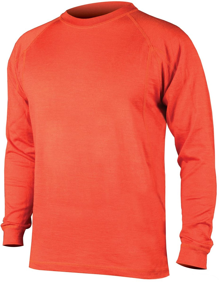 Endura BaaBaa Merino Long Sleeve Cycling Base Layer AW17
