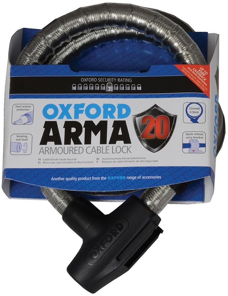 Oxford Revolver Cycle Armoured Cable Lock
