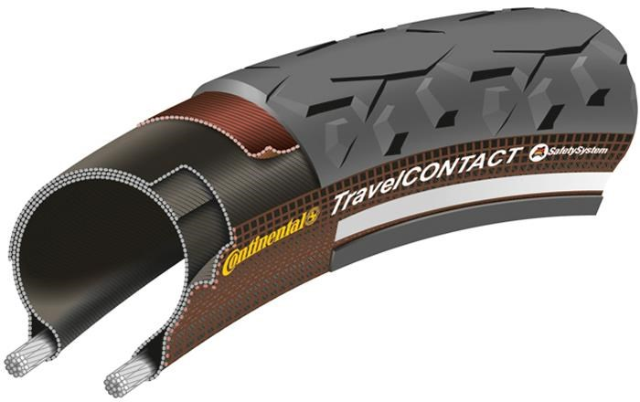 Continental Travel Contact Reflective 26 inch MTB Tyre