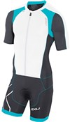 Image of 2XU Compression Full Zip Sleeved Tri Suit