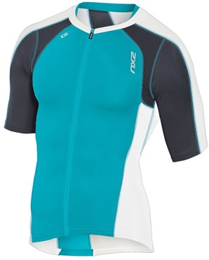 Image of 2XU Compression Sleeved Tri Top