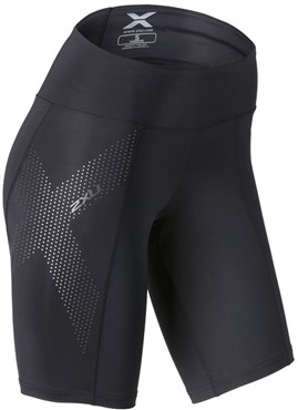 Image of 2XU Mid-Rise Womens Compression Shorts SS16