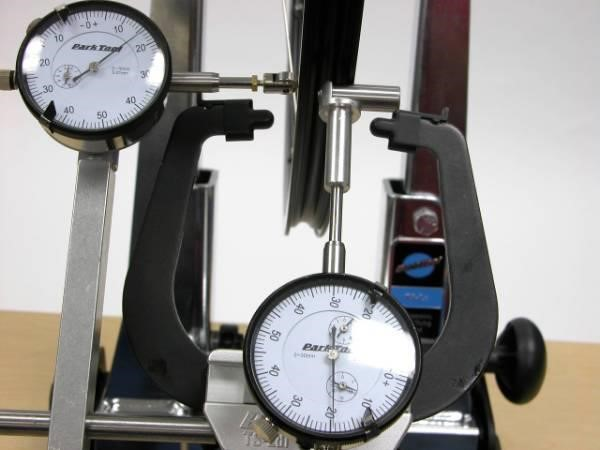Park Tool TS2di Dial Indicator Gauge Set For TS2 / TS2.2 Truing Stands