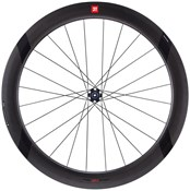 Image of 3T Discus C60 Team Stealth Clincher Road Wheel
