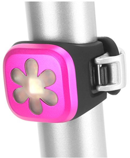 Knog Blinder 1 LED Pink Flower USB Rechargeable Front Light