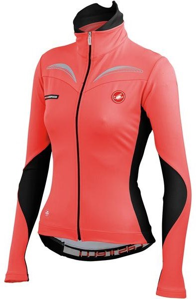 Castelli Transparente Womens Long Sleeve Cycling Jersey