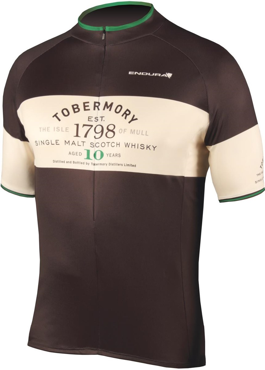 Endura Tobermory Whisky Short Sleeve Cycling Jersey AW17