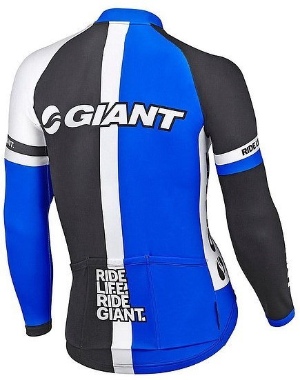 Giant Race Day Thermal Long Sleeve Cycling Jersey