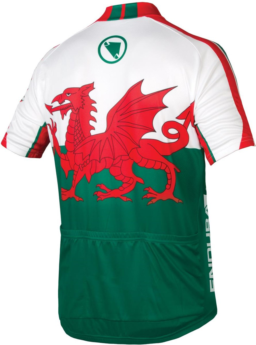 Endura CoolMax Printed Wales II Short Sleeve Cycling Jersey SS17
