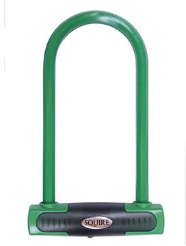 Squire Eiger Shackle U Lock - Sold Secure Gold