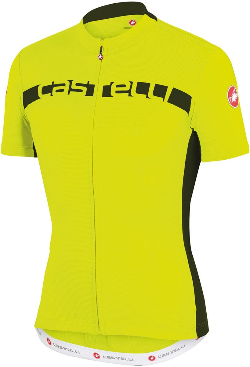 Castelli Prologo 4 FZ Short Sleeve Cycling Jersey With Full Zip SS16