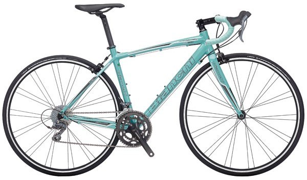 Bianchi Via Nirone 7 Dama Bianca - Claris Compact Womens 2017 Road Bike